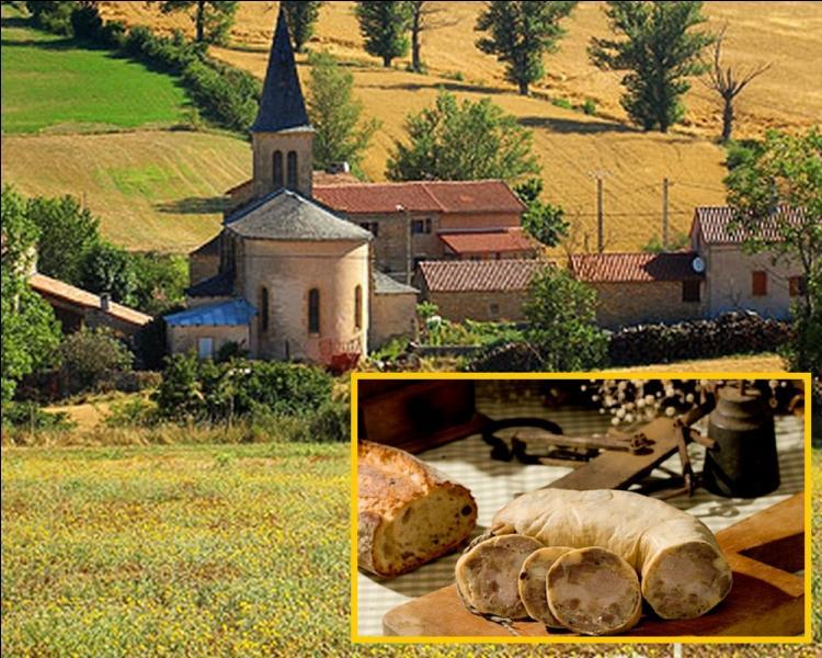 Produit du terroir tarnais et du sud de l'Aveyron, cette saucisse épicée aux œufs, et au pain, de la famille des boudins blancs est à base de poitrine de porc et de panade à l'œuf ... .