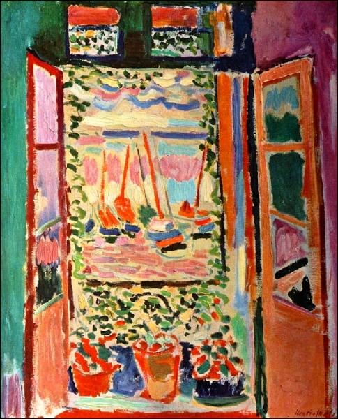 Quizz cette toile est elle de matisse quiz peintures for Matisse fenetre ouverte