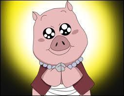 Comment s'appelle le cochon de Shizune & Tsunade ?