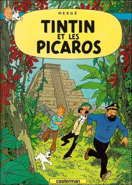 En quelle année est sorti le dernier album de Tintin intitulé  Tintin et les Picaros  ?