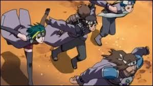Dans l'épisode hors-série 216, d'où viennent les ninjas qui ont enlevé Matsuri ?