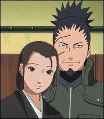 Comment se nomment les parents de Shikamaru ?