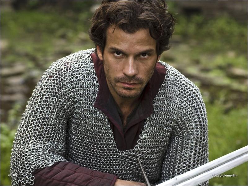 Que dit Lancelot à Merlin avant de mourir ? (saison 4, épisode 9)