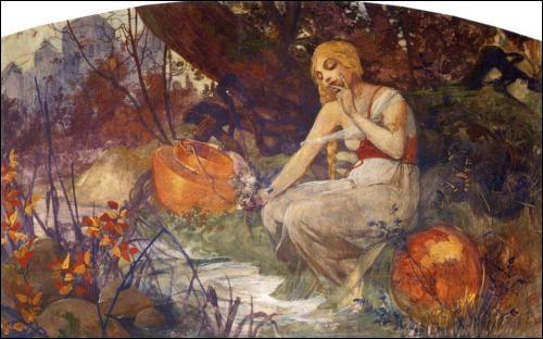 La prophétesse, 1896