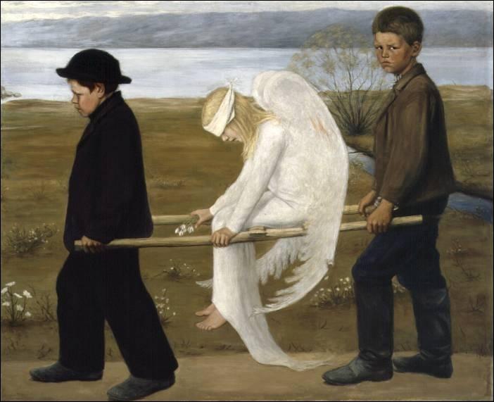 L'ange blessé, 1903