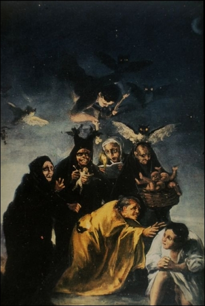 Le sabbat des sorcières, 1797