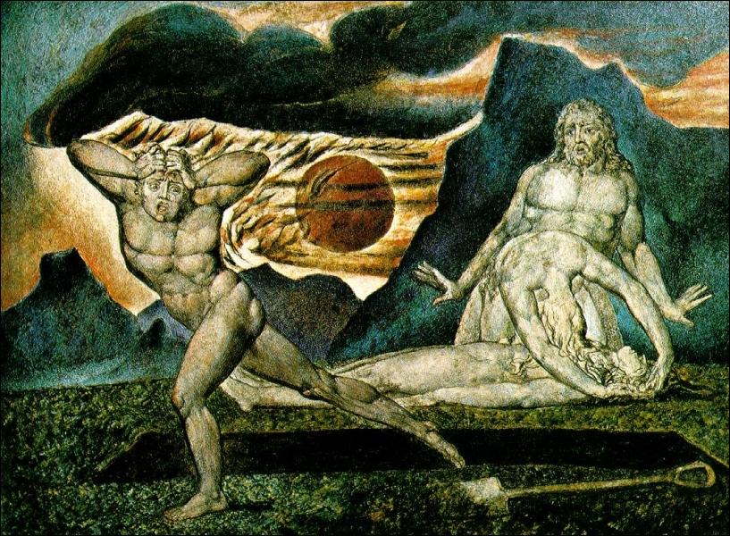 Le corps d'Abel découvert par Adam et Eve, c. 1825