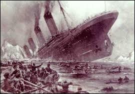 En quelle année y a-t-il eu le naufrage du Titanic ?