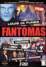 Quel rôle joue-t-il dans la série des  Fantômas  ?