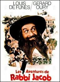 Dans  Les aventures de Rabbi Jacob , Louis de Funès joue le rôle de ...