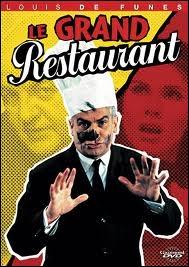 Dans  Le grand restaurant , il joue le rôle de ...