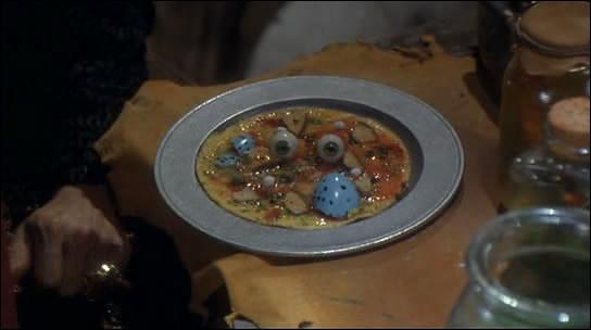 Qu'évoque au prince Jean ce plat préparé par la sorcière ?