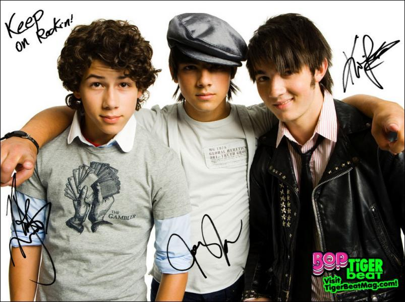 Hannah a sympathisé avec les Jonas Brother.