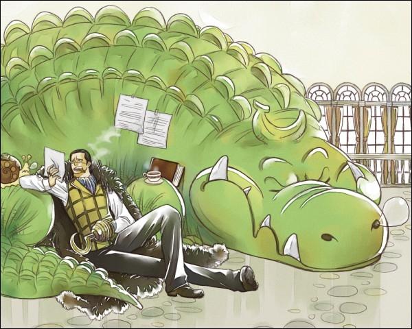À Impel Down, Luffy rencontre Crocodile. Que décide de faire celui-ci ?