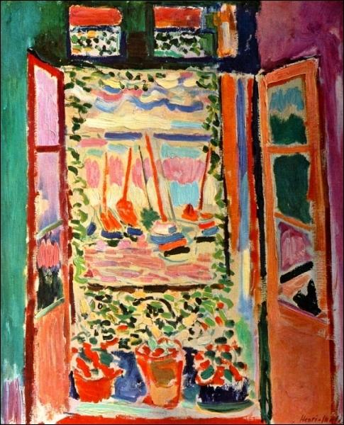 Quizz le fauvisme quiz matisse braque fauvisme for Matisse fenetre ouverte collioure