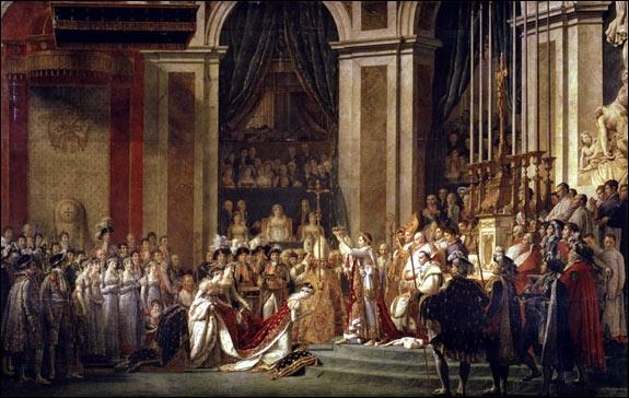 Napoléon le premier du nom vit entre une femme sacrée et une sacrée mère !  Le Sacre de Napoléon  a été réalisé par :