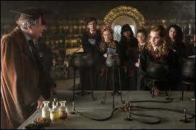 Dans  Harry Potter et le prince de Sang-Mêlé , quelles odeurs sent Hermione quand elle sent l'Amortentia durant le cours de potions de Slughorn ?