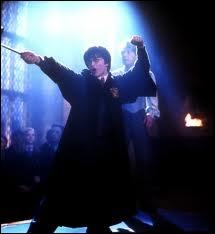 Dans  Harry Potter et la chambre des secrets , quand Harry réalise-t-il qu'il parle Fourchelang ?