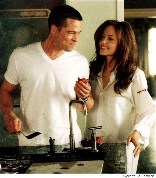 Juste pour le fun, cette photo, à votre avis, c'est le couple Brad-Angie... ?