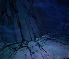 Qu'appelle Chernabog, en premier, à l'aide des ombres formées par ses mains ?