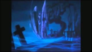 En plus d'invoquer les fantômes du cimetière, quels fantômes Chernabog invoque-t-il ?