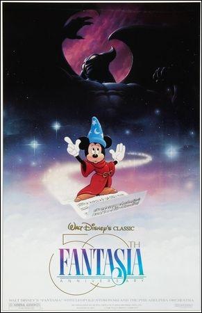 Bien que  Fantasia  soit considéré comme un Disney à part, sans narration, plutôt pour les adultes malgré la présence de Mickey, qu'est-ce qu'il fait qu'il reste malgré tout  dans la norme ?