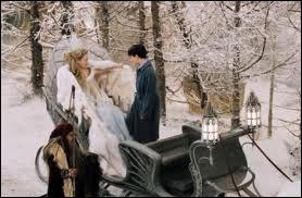 Dans  Le Monde de Narnia : Le Lion, la Sorcière blanche et l'Armoire magique , quelles friandises offre la sorcière à Edmund dans son traîneau ?