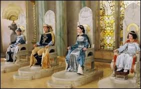 Dans  Le Monde de Narnia : Le Lion, la Sorcière blanche et l'Armoire magique , qui apporte les couronnes dans l'allée avant qu'elles ne soient posées sur les têtes des héros ?