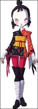 Quelle arme a Yumi ?