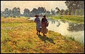 Quel(le) peintre auteur de nombreux paysages des bords de la Lys est considéré comme la figure la plus brillante du luminisme ?
