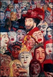 Dans quelle ville James Ensor connu pour ses tableaux de masques est-il né en 1860 ?