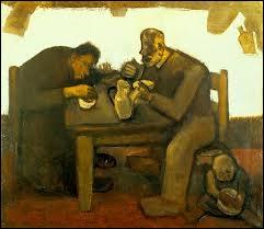 Quel peintre expressionniste a évoqué dans son oeuvre la rude vie des paysans et des marins comme dans  Le pain quotidien  ?
