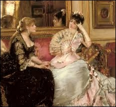 Quel peintre ayant représenté la Parisienne du Second Empire a été surnommé le Gérard Terboch français en hommage à son talent à rendre les détails et les étoffes somptueuses ?
