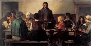 Quel peintre considéré comme l'un des plus importants représentants du mouvement réaliste belge décrivit des scènes de la vie ouvrière et paysanne comme dans  Le bénédicité  ?
