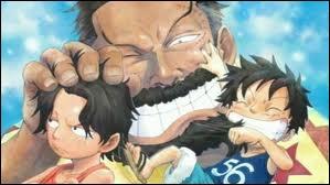 Comment s'appelle le grand-père de Luffy ?