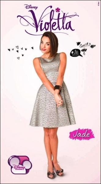 Comment se prénomme l'actrice qui interprète Jade ?