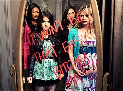 Combien de messages de -A, les quatre filles ont-elles reçu ensemble et en même temps dans les trois saisons ?