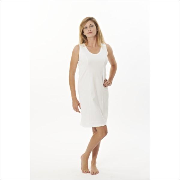 Parfois un peu désuète, elle était souvent portée jadis quand les robes étaient transparentes. Quel est le nom de ce sous-vêtement féminin ?