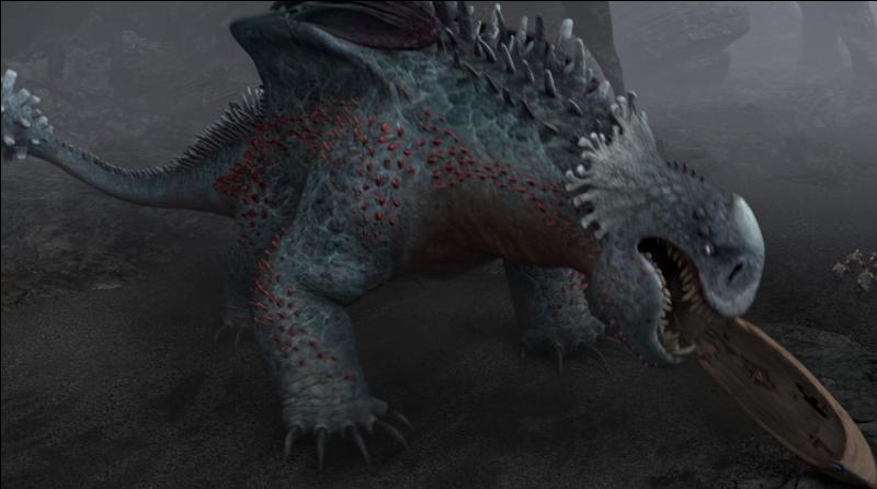Hors Disney : qui est ce méchant dragon dirigeant une colonie où il oblige les siens à piller les humains afin qu'ils lui ramènent de la nourriture en abondance ? De quel film d'animation vient-il ?