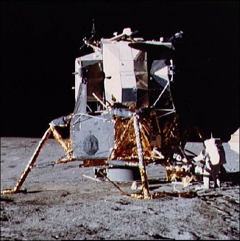 Quel nom portait le module lunaire (LEM) qui fut utilisé par Aldrin et Armstrong pour se poser sur la lune lors de la mission Apollo 11 en 1969 ?