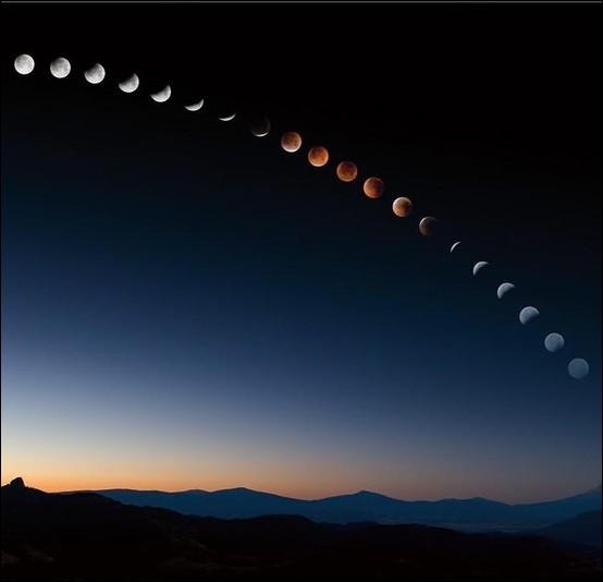 Laquelle de ces affirmations sur l'éclipse lunaire est erronée ?