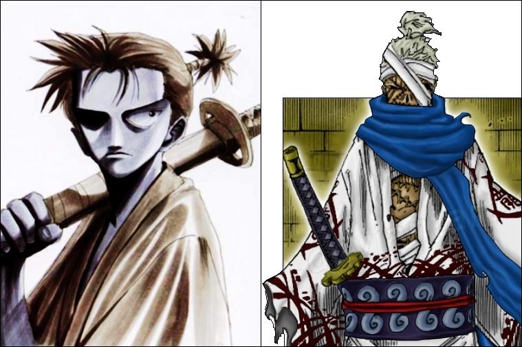 Pour Ryuma, le samouraï de Thriller Bark, l'auteur s'est inspiré de ... eh bien de Ryuma ! Ce dernier était le héros d'une oeuvre d'Oda écrite en 1994. Quel était son nom ?