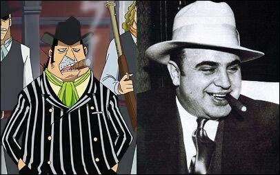 Capone  Gang  Bege a évidemment été inspiré du célèbre Al Capone. Qui était-ce ?