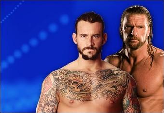 Triple H vs. CM Punk, qui gagne ?