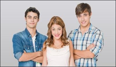 Qui sont les deux garçons amoureux de Violetta ?
