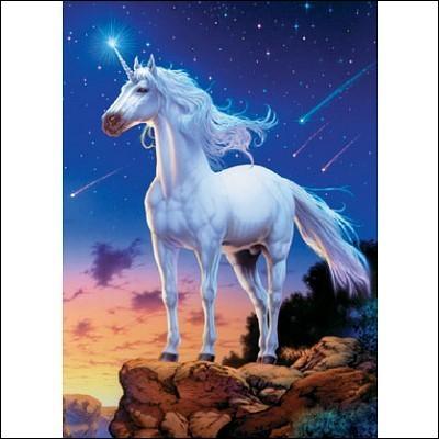 Qu'est-ce que les licornes sont censées créer selon une légende ?