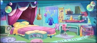 Avec qui partage-t-elle sa chambre ?
