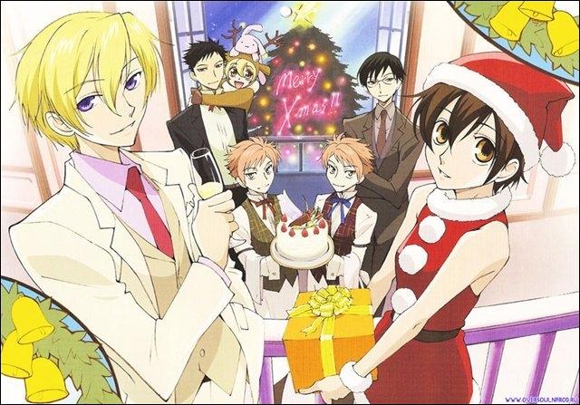 Quel manga Shojo raconte l'histoire d'une fille qui est habillée en garçon et fait partie d'un club d'hôtes accueillant des jeunes filles ?