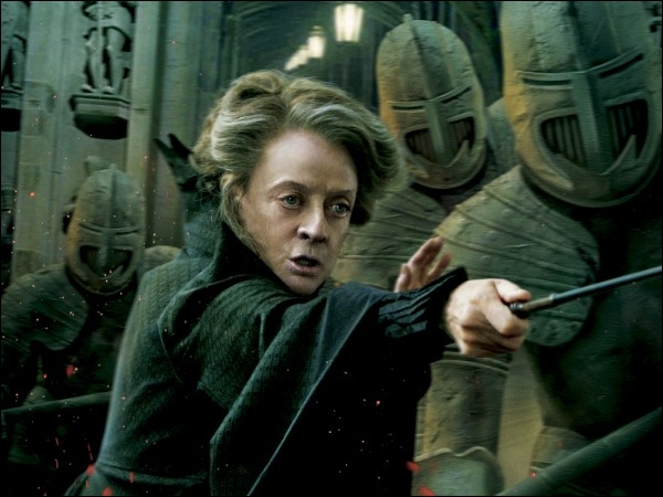McGonagall a pour prénom Minerva, cela fait référence à :