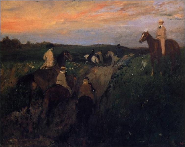 La promenade à cheval.